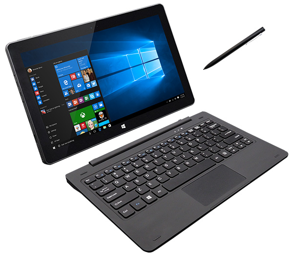 Leader Tablet 12W2PRO, 11.6' Full HD, Intel Celeron, 4GB, 32GB + 32GB Storage, Touch, Inking (Pen), Window 10 Professional, Onsite Warranty, Keyboard