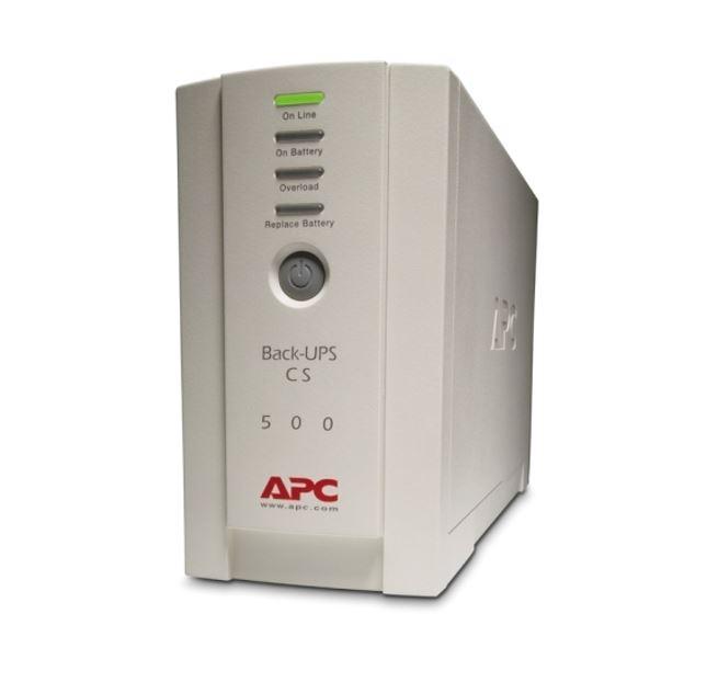 APC Back-UPS BK500EI CS 500VA 300Watts,USB,hot swap battery