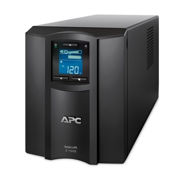APC SMC1500IC Smart UPS 1500VA with Smartconnect, LCD, Tower, 2 Year Warranty