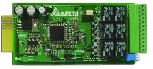 Delta Relay I/O card for Delta UPS