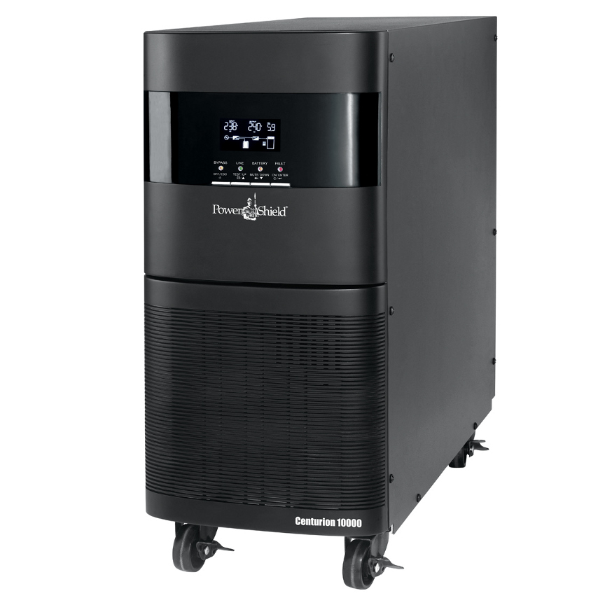 PowerShield Centurion 10KVA / 9kW  True Online Double Conversion, Includes RS232, USB, Intelligent Slot