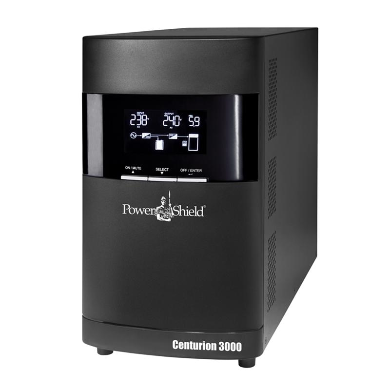 PowerShield Centurion 3000VA True On-Line Tower UPS requires 15amp