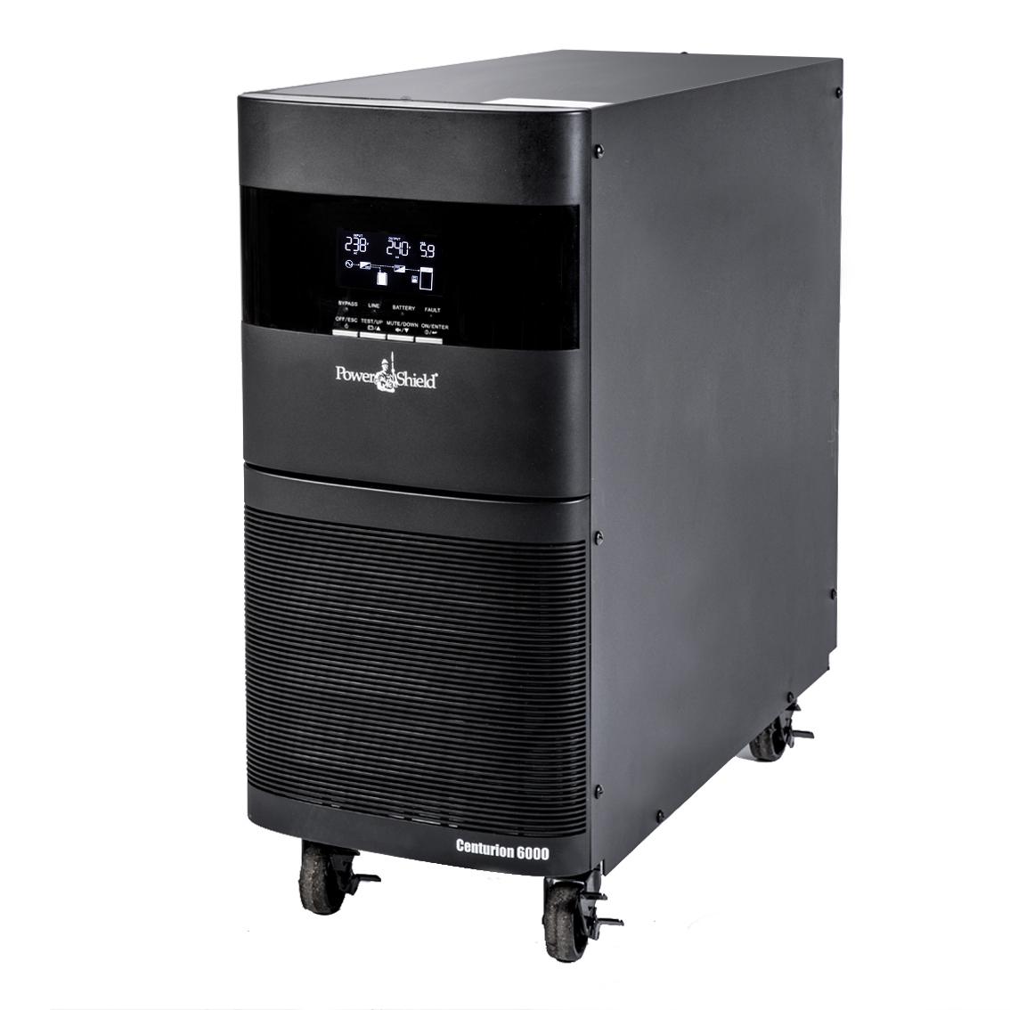 PowerShield Centurion 6000VA Tower UPS, True Online Double Conversion