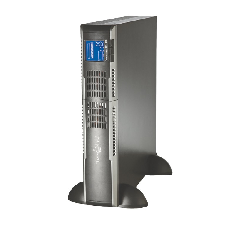 PowerShield Commander RT 1100VA / 880W Line Interactive, Pure Sine Wave Rack / Tower UPS with AVR. Hot swap batteries, IEC  AUS Plugs