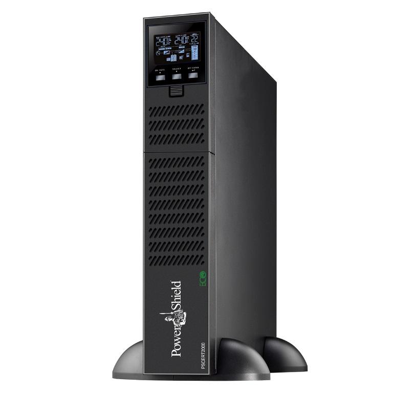 PowerShield Centurion RT 2000VA / 1800W True Online Double Conversion Rack / Tower UPS, Programmable outlets, Hot swap batteries. IEC  AUS plugs