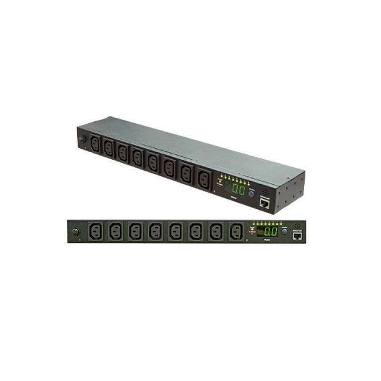 Powershield RPSW-10A8 Dynamix Netwrok Switch PDU, 2 x 10a ICE Outout, 10a Inlet Plug