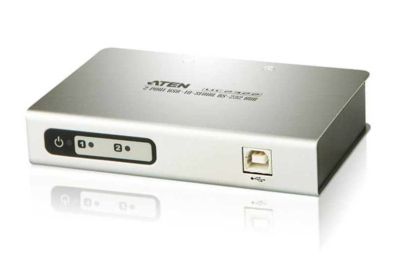 Aten 2 Port USB to RS232 Converter with 1.8m cable