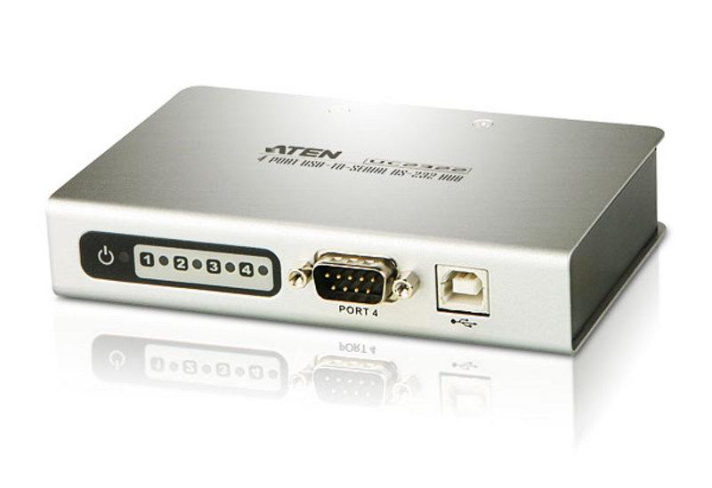 Aten USB to 4 Port Serial RS-232 Hub