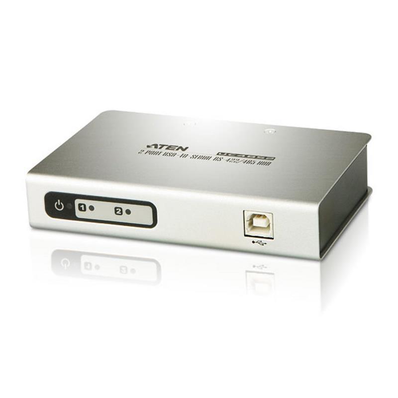 Aten USB to 2 Port Serial RS-422/485 Hub