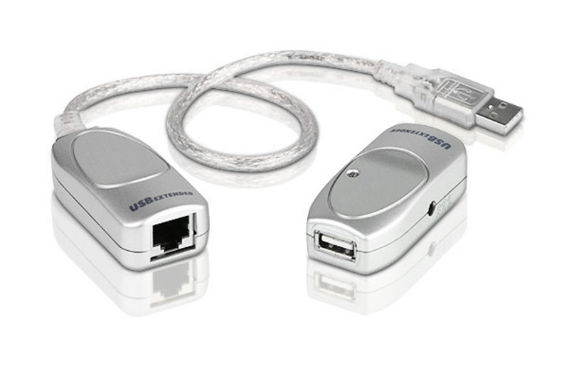 Aten USB 2.0 Cat 5 Extender, extends up to 60m, supports USB speeds up to 12Mbps