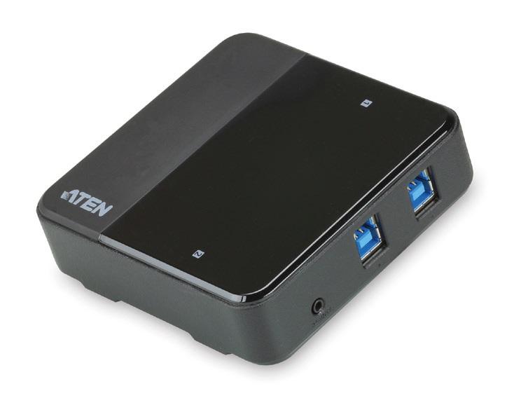 Aten 2-port USB 3.0 Peripheral Sharing Device