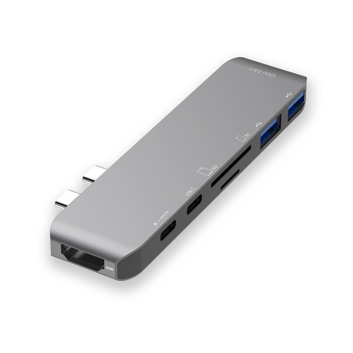 mbeat® 'Elite Mini' USB-C Mini Dock with 4K HDMI, Thurderbolt 3, PD Charging and SD/TF Reader