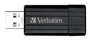 Verbatim Store'n'Go Pinstripe USB Drive 8GB (Black)