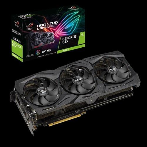 Asus nVidia ROG-STRIX-GTX1660TI-O6G-GAMING GDDR6 6GB OC Edition