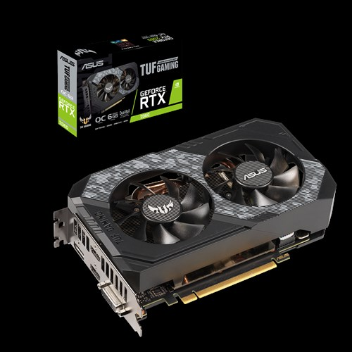 ASUS nVidia TUF Gaming GeForce RTX™ 2060 OC edition 6GB GDDR6 New NVIDIA Turing™ GPU Architecture