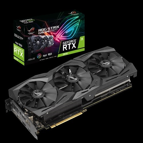 ASUS nVidia ROG-STRIX-RTX2070-A8G-GAMING GeForce RTX2070 Advanced Edition 8GB GDDR6