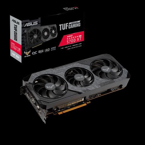 ASUS AMD TUF 3-RX5700XT-O8G-EVO-GAMING RX5700 XT EVO, GDDR6 8GB, 1870 MHz Boost,6xDisplays, 3xDP 1xHDMI