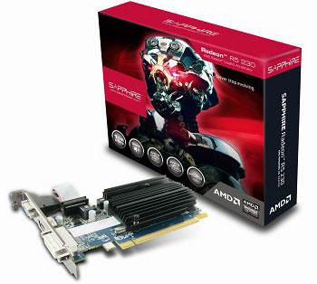 SAPPHIRE AMD R5 230 1GB GDDR3 PCI-E VGA CARD, HDMI / DVI-D / VGA, LP Bracket Included