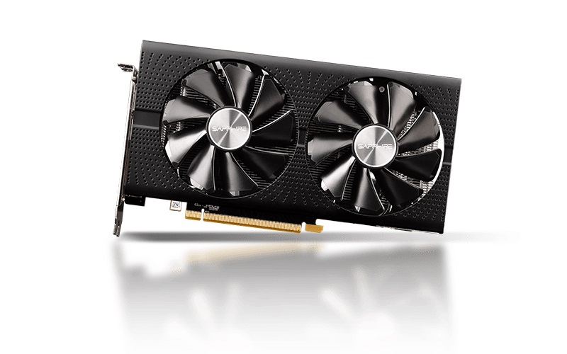 SAPPHIRE AMD RADEON PULSE RX 570 8GB GDDR5 LITE PCI-e VGA CARD, 2xHDMI / 2xDP (UEFI), 1284MHz Boost