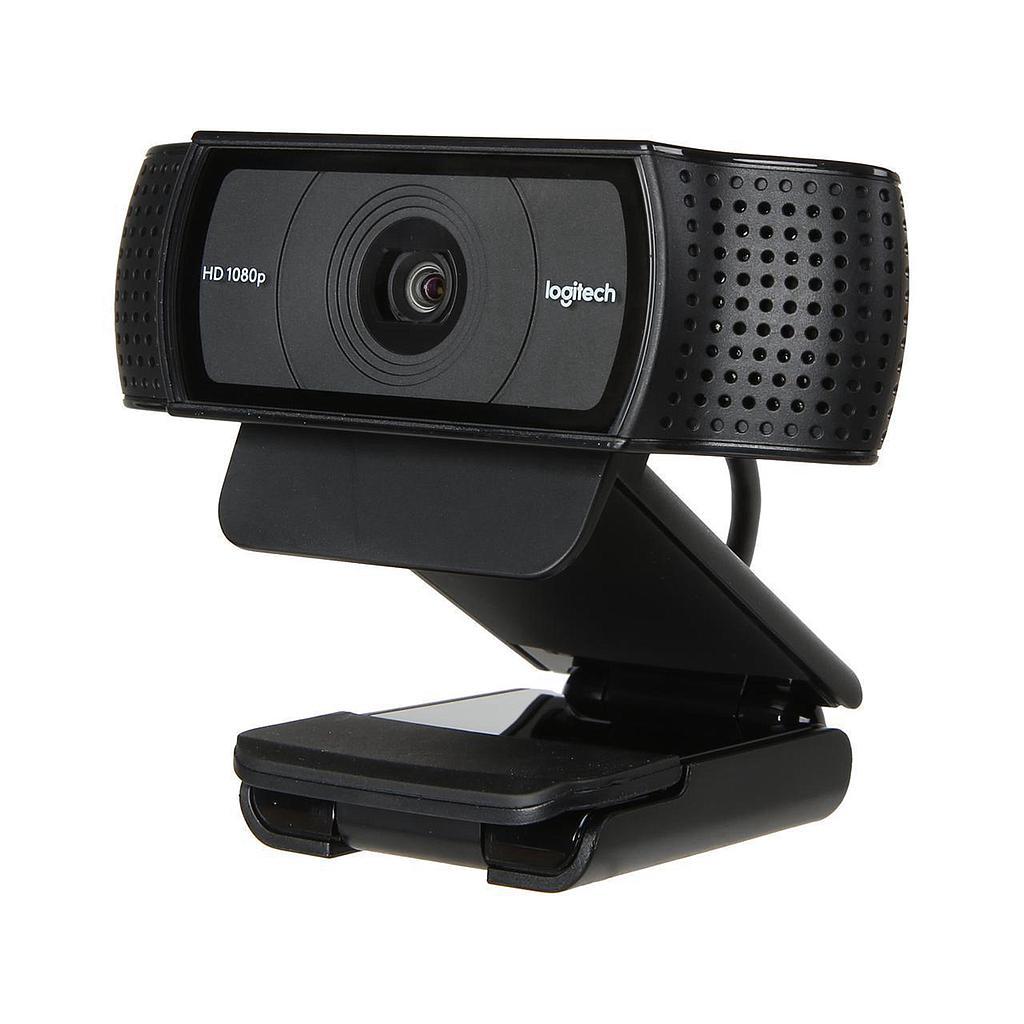 Logitech C920e HD Pro Webcam 1080p / 30fps/ Auto Focus  for Skype, Hangouts, Facetime, Teams - Compatible with MAC/Desktop PC/Laptop Notebook
