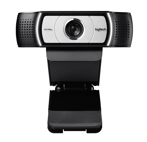 Logitech C930c Full HD 1080p Webcam -  1920x1080, 90 Degree Field View, Privacy Shutter, Tripod Ready, Ideal for Skype, Teams, Zoom Notebook PC