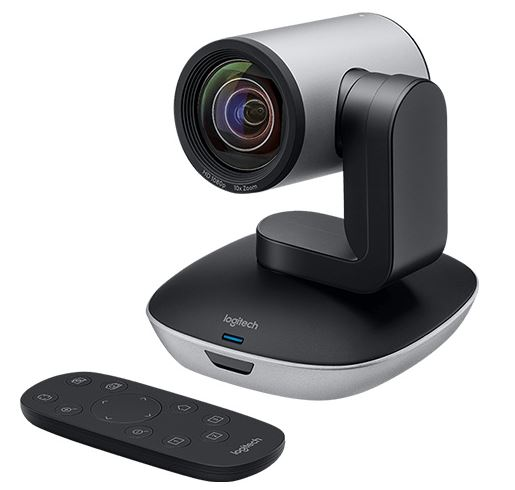 Logitech PTZ Pro 2 Conference Cams HD Video Conferencing Pan Tilt Zoom Camera for Medium-Large Business Group works w Skype MS Lync Cisco Jabber Wex