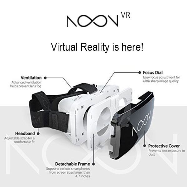 NOON VIRTUAL REALITY VR , ANYPHONE, ANYWHERE 3D HEADPHONE