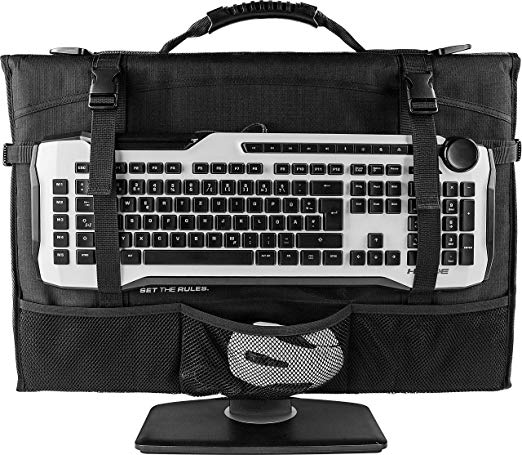 ROCCAT Gaming Across The Board Monitor/Flatscreen Bag, Version 2.0 - Suitable for 20-24' Wide-screen monitor(LS)